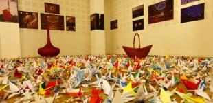 1728 жерава-оригами ще отлетят към Япония