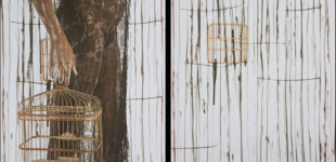 Мария Магдалена Кампос-Понс Без заглавие (Свобода), 2013 Maria Magdalena Campos-Pons Untitled (Freedom), 2013 Polaroid diptych