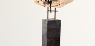 Разкъсване I. 2014, керамика, желязо, 145/83/30 см Abruption I. 2014, ceramics, iron; 145/83/30 cm