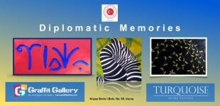 "ГАЛЕРИЯ ""ГРАФИТ"" ПРЕДСТАВЯ  ""DIPLOMATIC  MEMORIES″ 22.11 – 01.12"