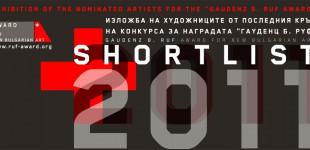 Изложба на номинираните за наградата за съвременно изкуство Гауденц Б. Руф, 27.10-10.11